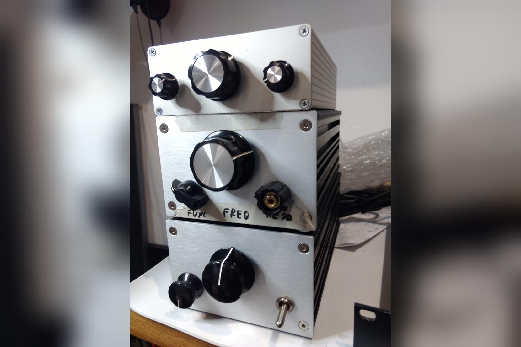 three ktbk prototypes